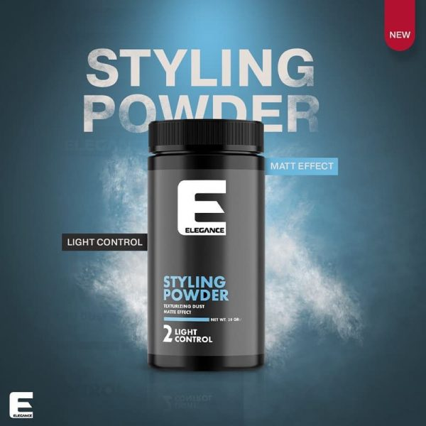 Buy Elegance styling powder Melbourne from Majesticcuts barbershop in Australia high quality to sell at the lowest price.