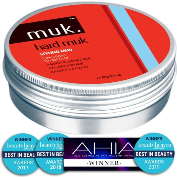 Buy Hard MUK styling paste men 95g hair wax Melbourne from Majesticcuts barbershop in Australia high quality to sell at the lowest price