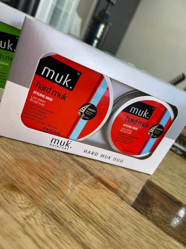 Buy Hard MUK styling paste men duo pack hair wax Melbourne from Majesticcuts barbershop in Australia high quality to sell at the lowest price.