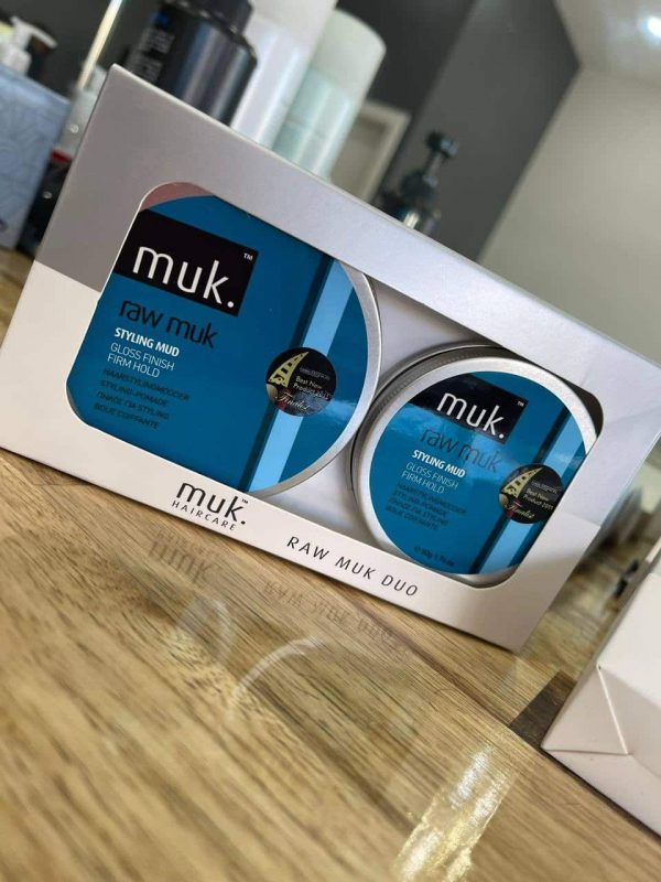 Raw MUK styling mud men duo pack hair wax Melbourne from Majesticcuts barbershop in Australia high quality to sell at the lowest price.